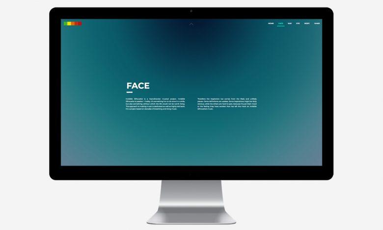 Invisible Silhouette: Desktop