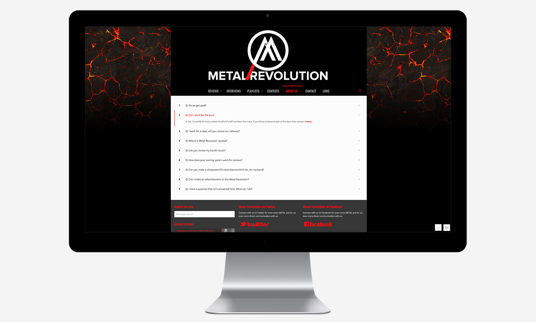 Metal Revolution: Desktop
