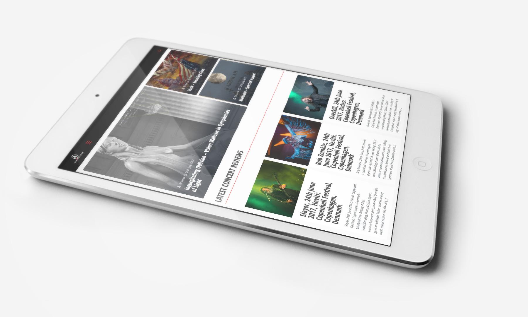 Metal Revolution: Tablet