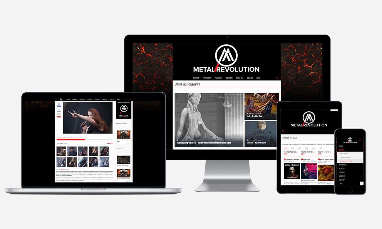 Metal Revolution: Web range