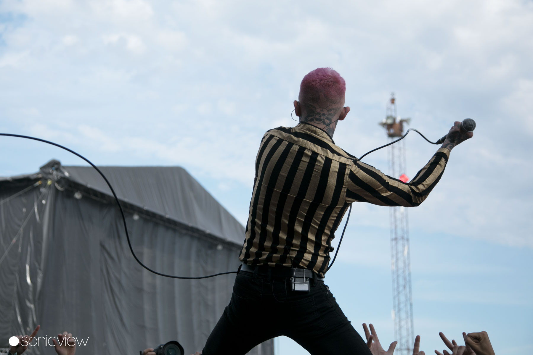 Frank Carter & The Rattlesnakes: Live at Copenhell 2017, Denmark