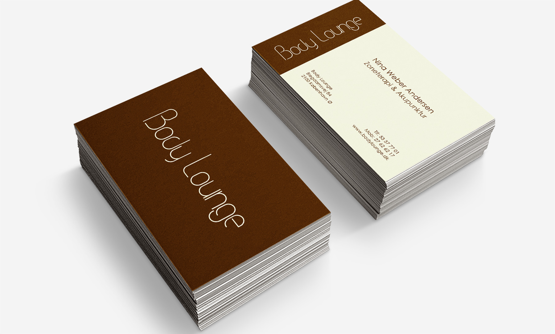 Body Lounge: Business card