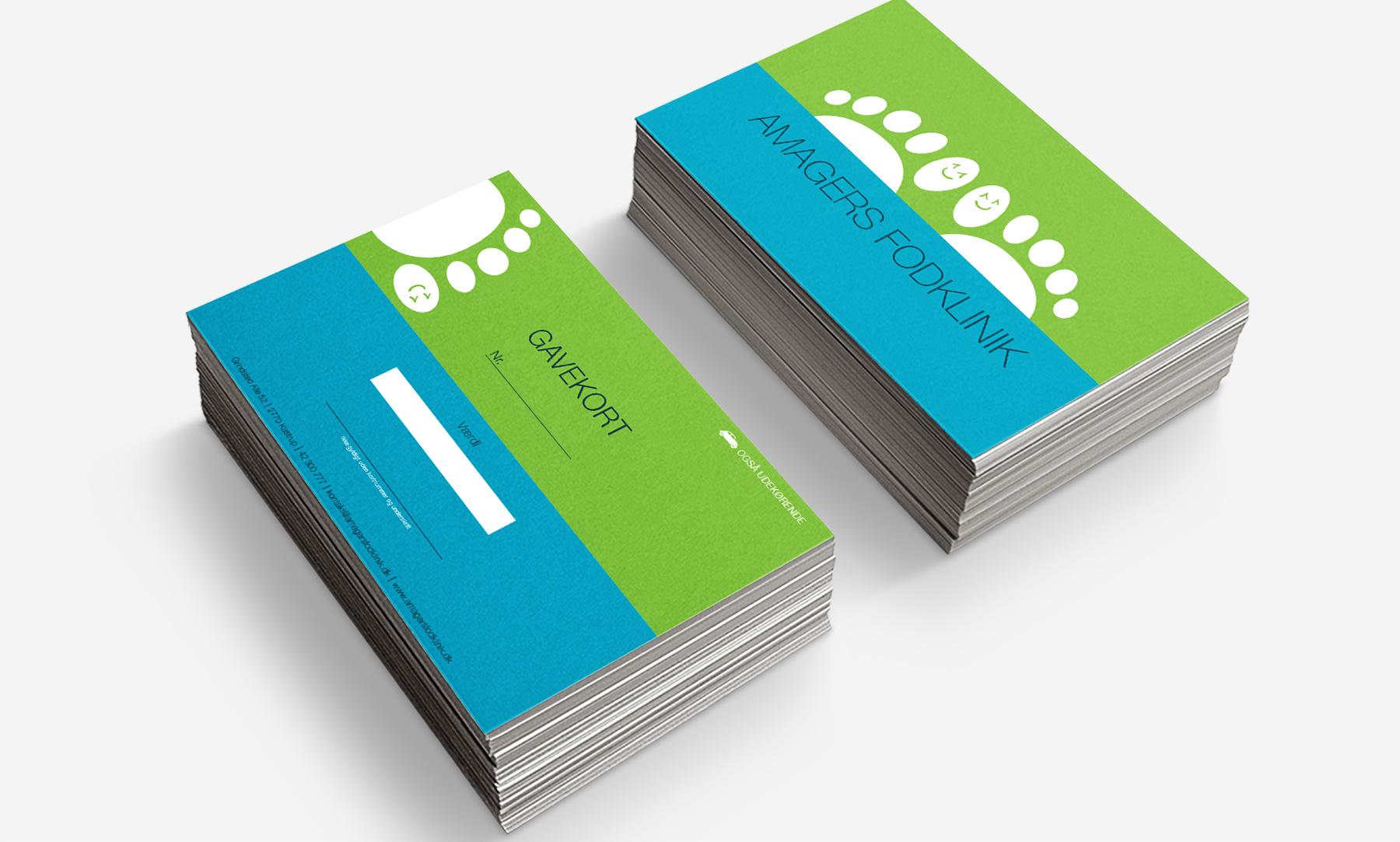 Amagers Fodklinik: Gift cards