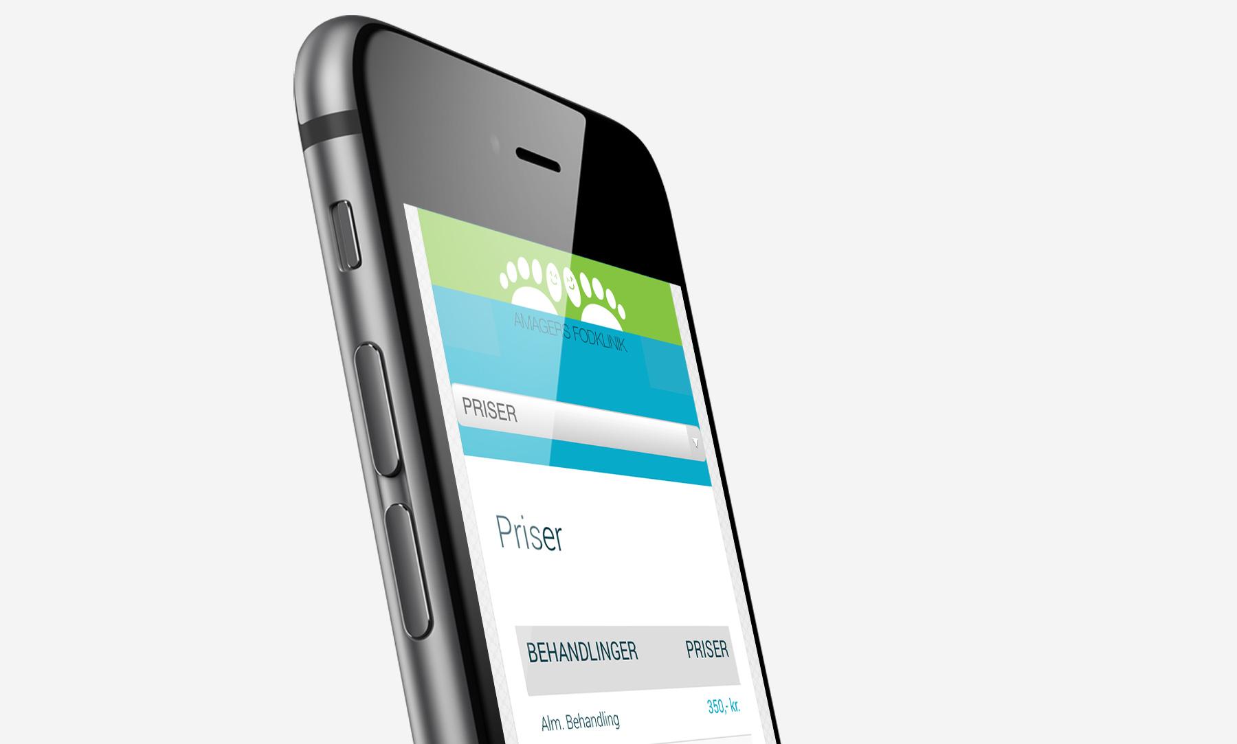 Amagers Fodklinik: Mobile