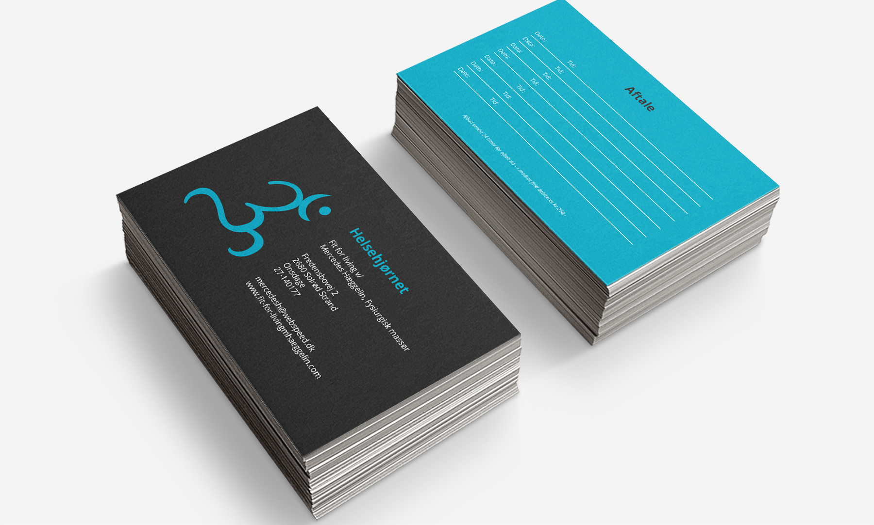 Fit For Living: Business cards