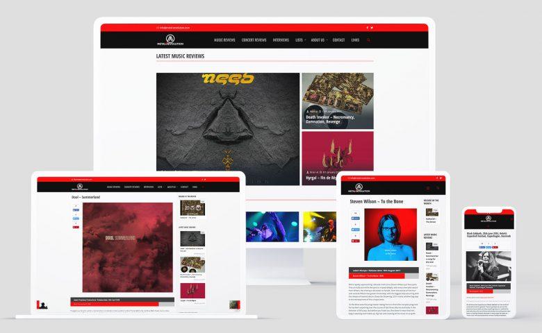 Metal Revolution Magazine: Web range