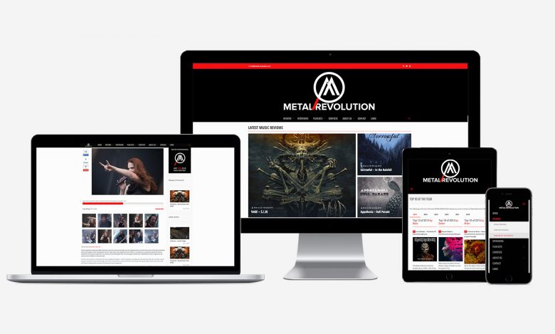 Metal Revolution Magazine: Web range