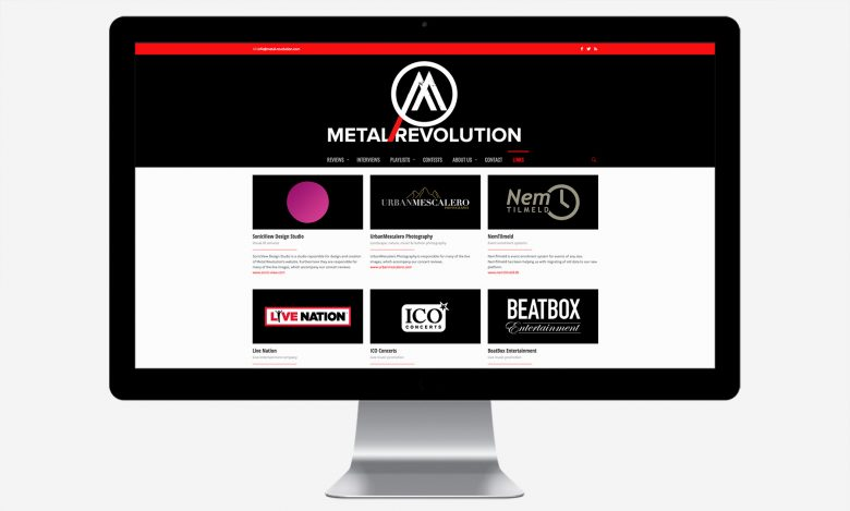 Metal Revolution Magazine: Desktop