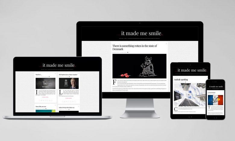 ___It Made Me Smile: Web range