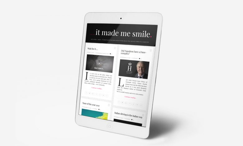 ___It Made Me Smile: Tablet
