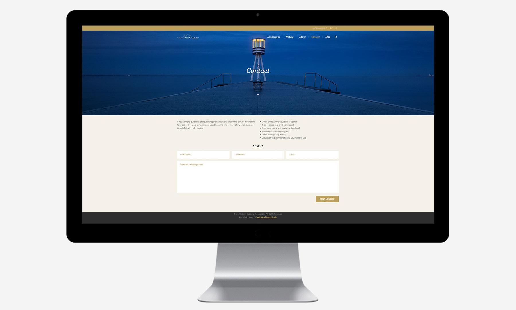 Urban Mescalero: Desktop