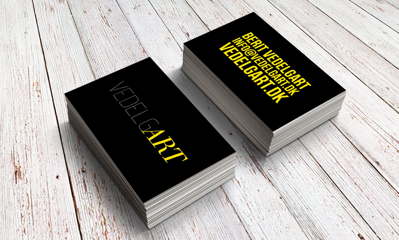 VedelgART: Business cards