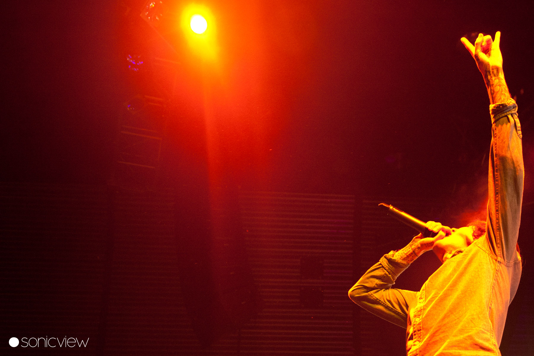 Bring Me The Horizon: Live at Amaager Bio 2012, Copenhagen, Denmark