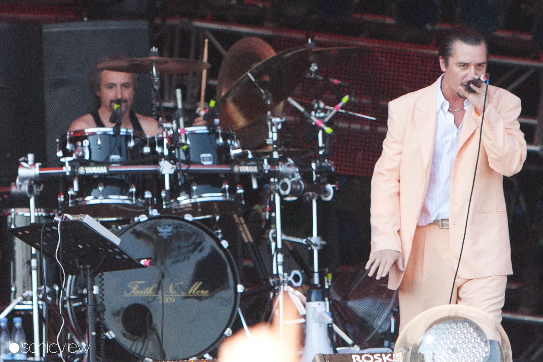 Faith No More: Live at Roskilde Festival 2011, Roskilde, Denmark