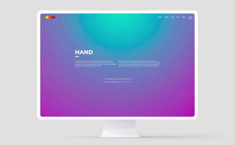 Invisible Silhouette: Web desktop